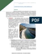 Proceso Constructivo en El Area Hidraulica