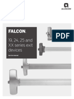 Falcon 19-24-25 and XX Service Manual 108004