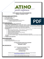 latino youth conference scholarship application 2018pdf