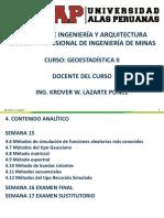 Geoestadística II sistemas auxiliares