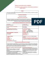 Informe de Evaluación de Riesgo Ambiental