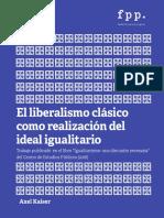 El Liberalismo Clásico como Realización del Ideal Igualitario.pdf