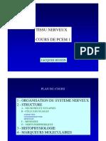 cours neurohisto PCEM1 2006-2007