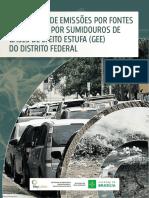 INVENTÁRIO DE EMISSÕES POR FONTES E REMOÇÕES POR SUMIDOUROS DE GASES DE EFEITO ESTUFA (GEE) DO DISTRITO FEDERAL