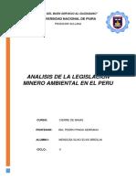 ANALISIS DE LA LEGISLACIÓN MINERA Y AMBIENTAL EN EL PERU.docx