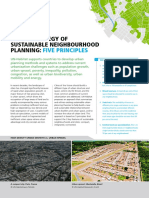 A New Strategy of Sustainable Neighbourhood Planning Five Principles
