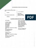 Public Nokia Opening Pretrial Brief