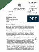 Cargo de Oficio 007-2017-Pr