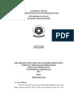 Laporan praktikum fitokimia analisa total fenol