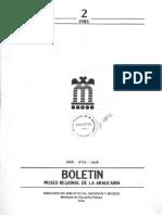 Boletin de Museo Araucania
