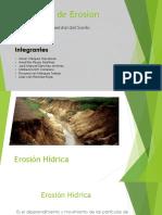 Tipos de Erosión - Ambiental Del Suelo