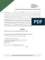 Disdetta Vodafone Station Telefono e ADSL Modulo PDF COMPILABILE