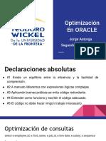 6. Optimizacion en ORACLE (1)
