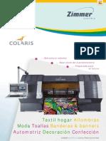 Estampado Colaris Digital Printing Systems V1