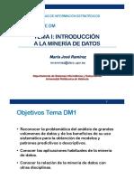 Data Mining Introducción