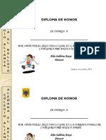Diplomas Corrida Familiar 2014