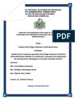 Analisis Codigo de Aduana c.A