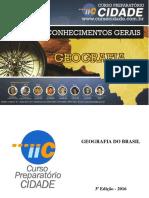 1. Apostila de Geografia Do Brasil ICC Cidade - Atualizada 18 07 2016