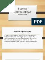 System Komputerowy babsona.odp