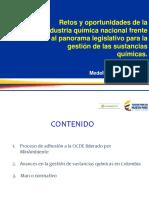 Retos Industria Química Legislativo Para La Gestión de Sustancias Químicas. - OCDE 2017