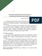 CAMPOS-Artigo-1998-Heterogeneidade lingüística