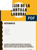 Taller de La Cartilla Laboral