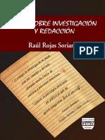 Notas Sobre Investigacion y Redaccion Raul Rojas Soriano