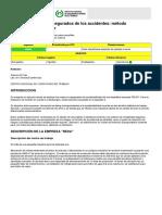 Ntp 273 Costes No Asegurados de Los Accidentes Metodo Simplificado de Calculo