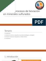 Mejora de Lixiviacion de Minerales Sulfurados