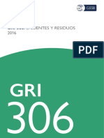 Spanish GRI 306 Effluents and Waste 2016