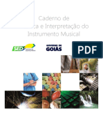 13. Caderno de Técnica e Interpetação Do Instrumento Musical III