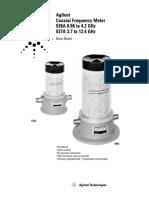 Agilent HP 537A Datasheet