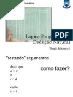 05 Logica Proposicional Deducao