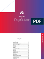 Pagebuilder Guide