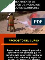 Entrenamiento Manejo de Extintores