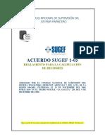 Acuerdo SUGEF 1-05