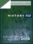 History 2018 Catalog