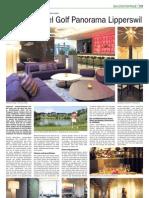 GOLFPANORAMA Baureportage in der Thurgauer Zeitung vom 28.08.2010