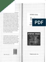 CULIOLI-Livro-2014-Escritos (coletânea em espanhol)