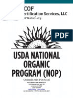 CCOF USDA NOP Standards Manual July 2017