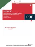 (REDAÇÃO)Tipologia Textual e Modelos Inovadores Para a Introdução-1