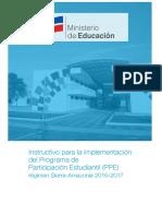 Instructivo Del Ppe 2016-2017
