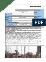 Reporte Semanal Del 24 Al 29 de Junio Del 2013 Obra Condor