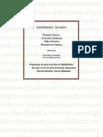 Habilidades sociales PROGRAMA.doc