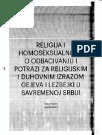 Ivanovic & Radulovic - Religija i Homoseksualnost