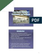 Pyroclastic Deposits I