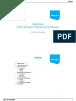 Tipos de Datos y Estructuras Condicionales (3)