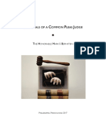 The Trials of a Common Pleas Judge, Chapter 20