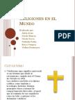 Religiones en El Mundo - Modelo Básico