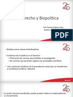Bioderecho y Biopolítica